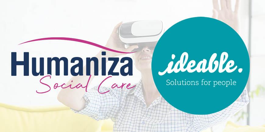 Acuerdo de colaboración entre IDEABLE y HUMANIZA SOCIAL CARE