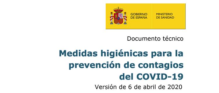 Medidas preventivas generales para garantizar la separación entre trabajadores frente a Covid-19