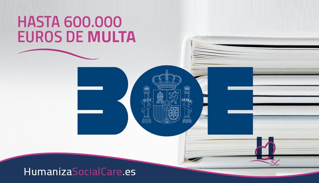 Sanciones de hasta 600.000 por incumplimiento covid19-BOE