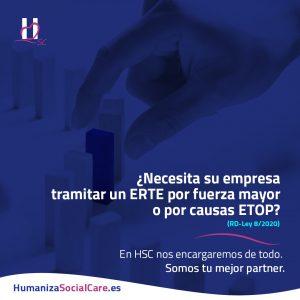 Informe HSC ejecutivo con resumen: reactivación del empleo y protección del trabajo autónomo.