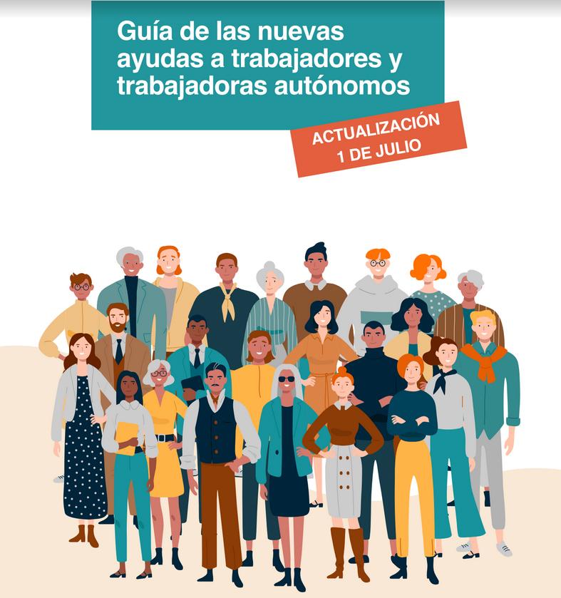 Guía de las nuevas ayudas para trabajadores y trabajadoras  autónomos 1-julio