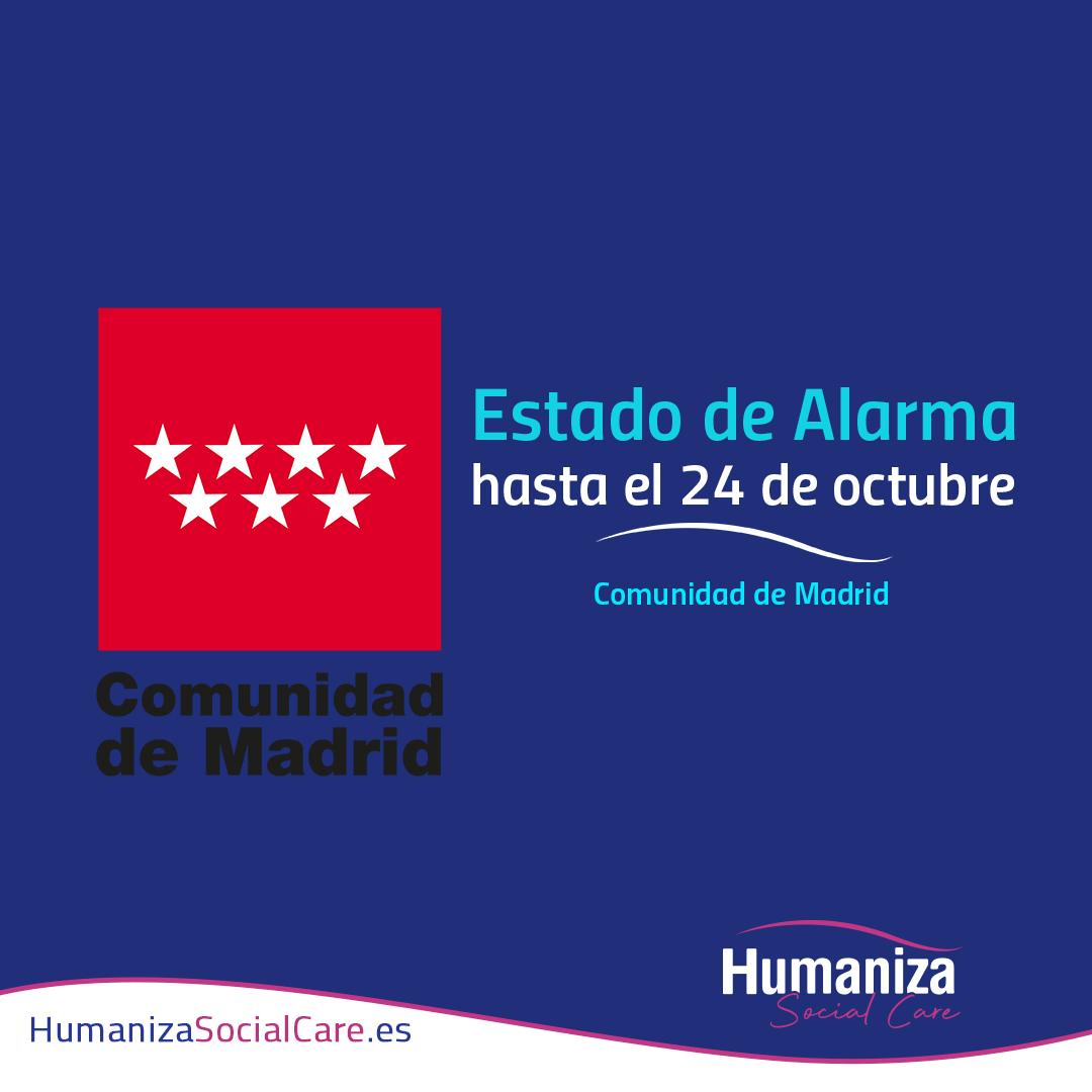 Real Decreto 900/2020, de 9 de octubre, por el que se declara el estado de alarma para responder ante situaciones de especial riesgo por transmisión no controlada de infecciones causadas por el SARS-CoV-2.