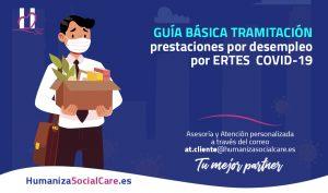 Guía básica tramitación prestaciones por desempleo por ERTES  COVID-19 #ERTES