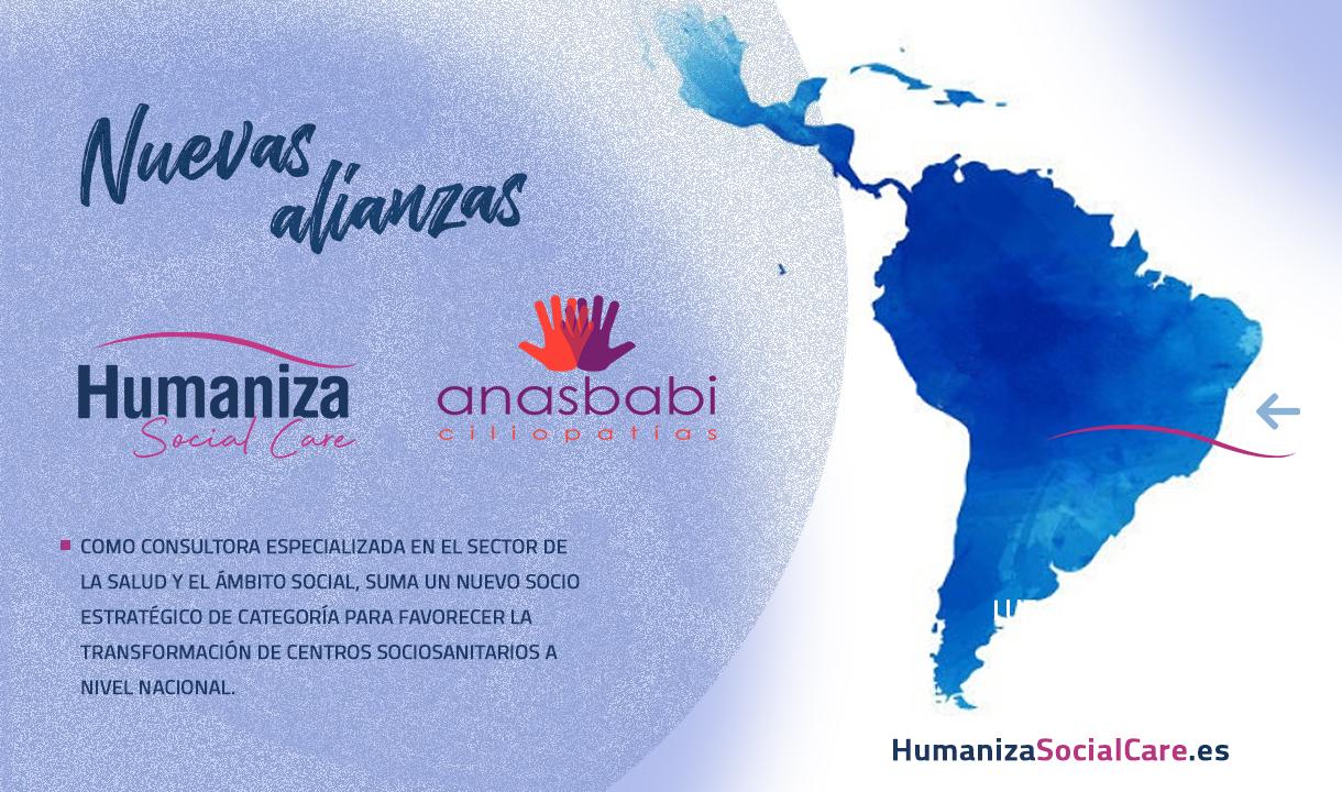 Anasbabi nuevo socio estratégico de categoría para favorecer la transformación de centros sociosanitarios a nivel nacional.