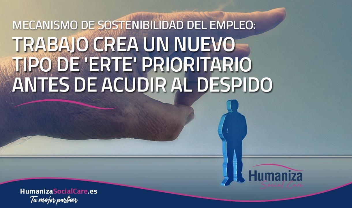 Mecanismo de Sostenibilidad del Empleo: Trabajo crea un nuevo tipo de 'Erte' prioritario antes de acudir al despido
